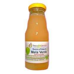 Succo e polpa di Mela Verde